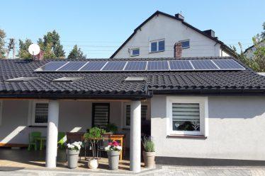 Budynek mieszkalny w gminie Osjaków 2 – instalacja 3 kW