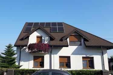 Budynek mieszkalny w gminie Osjaków 3 – instalacja 3 kW